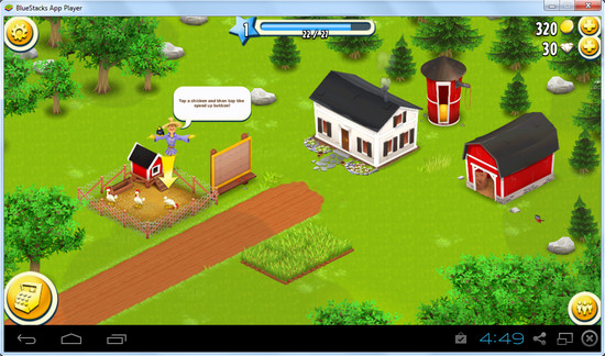 Playing Hay Day on PC with BlueStacks