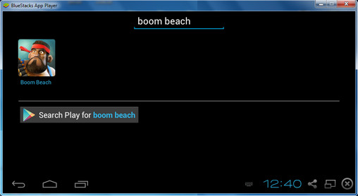Search Boom Beach on Play Store