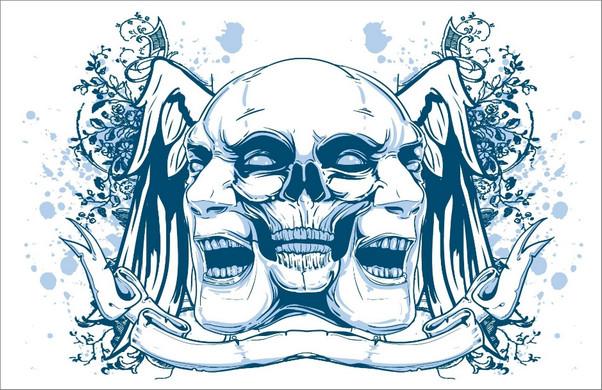 Artistic Skulls
