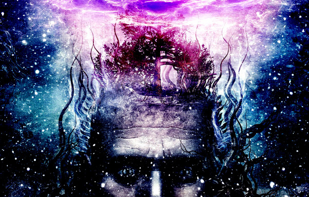 Psychedelic Head Wallpaper