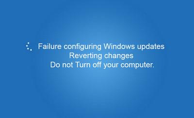 Windows Update Configuration Failure