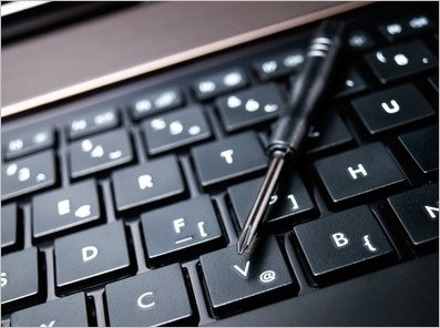 Broken Laptop Keyboard