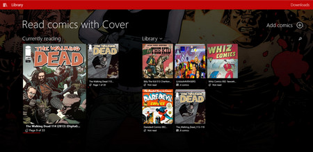 Cover Comic Reader