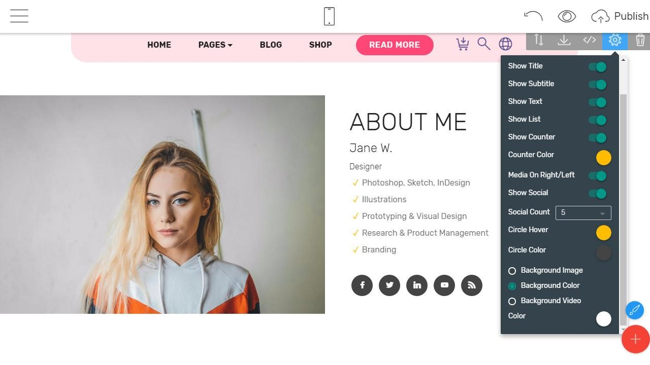 Mobirise HTML Website Builder