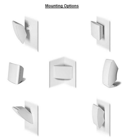 wall mounting options polk 0wm3